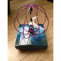 Helicoptero Giroscópio Esfera Voadora Controle Remoto
