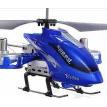 Helicóptero Rc 4 Canais + Controle +kit Para Reposição