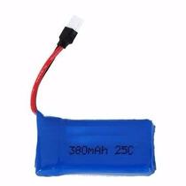 Bateria Lipo 1s 3.7v 380mah 25c Hubsan H107 X4 Ladybird