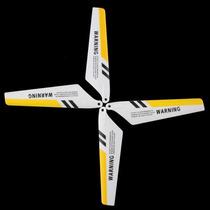 2 Pares De Helices Para Mini Helicóptero Syma S107