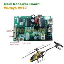 Nova Placa Principal Receiver Board Helicóptero Wltoys V912