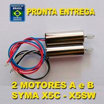 Syma X5c Par De Motores A+b Pronta Entrega
