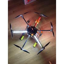 Drone Hexa Foto Aérea Droidworx Ad6 Dji Naza V1 Gps Completo