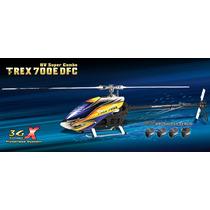 Helicóptero Align T-rex 700e Dfc Hv Super Combo Kx018e15