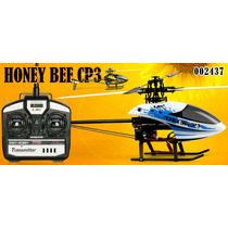 Helicóptero E-sky Honey Bee Cp3 Branco 6ch 2.4ghz Rtf Comple