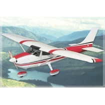 Avião Cessna 182 Skylane Motor 40-51 Great Planes Gpma1228