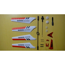 Kit De 19 Peças Para Helicóptero Syma S105g S107 S107c