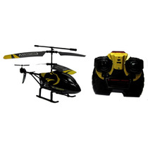 Helicóptero Rc Topo Tiger 3 Canais Preto Babyou