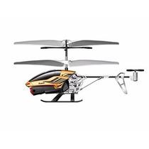 Miniat Helicóptero R/c Spy Cam Ii 2,4 Ghz Silverlit Dtc