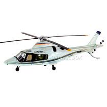 Helicóptero Agusta Westland Aw109 New Ray1:43 Branco 1586-4