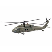 Miniat Helicóptero Sikorsky Uh 60 Kit De Montar 1:60 New Ray