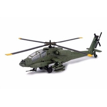 Miniatura Helicóptero Boeing Ids Ah 64 Apache 1:55 New Ray