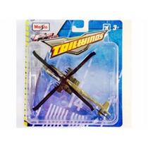 Helicóptero Apache Ah-64 Tailwinds S/ Pedestal Maisto