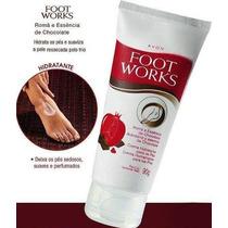 Foot Works Creme Hidratação Profunda Pés Extra Secos Avon