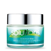 Solutions Creme Facial Antibrilho Dia Fps 15 - 50g