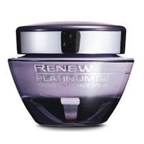 Avon Renew Platinum Dia Ou Noite Creme Anti-idade Fps 25