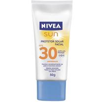 Protetor Solar Nivea Sun Fps 30 Facial Antissinais 50g