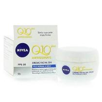Nivea Q10 Antissinais Plus Fps 30 Pele Normal A Seca Dia 52g
