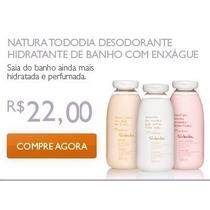 Natura Hidratante D Banho Com Enxágue Frutas Vermelhas 300ml