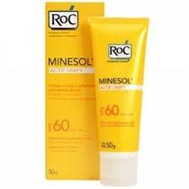 Protetor Solar Roc Minesol Actif Unify Fps 60 50g