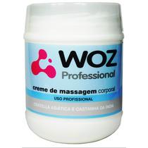 Creme De Massagem Perfumado Woz - 750 G - Uso Profissional