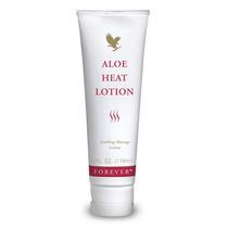Kit De 3 Aloe Heat Lotion Creme Para Massagem - Frete Grátis