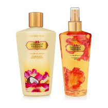 Kit Creme + Splash Coconut Passion Victoria´s Secret 250ml
