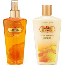 Kit Creme + Splash Amber Romance Victoria´s Secret 250ml