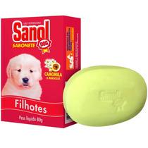 Sabonete Para Filhotes 80 G - Sanol Dog - Meu Amigo Pet