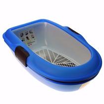 Banheiro Para Gato Bandeja Sanitário Furba Com Grade Chaleco