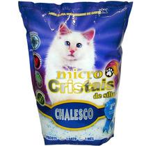 Areia Fina Micro Cristais Silica Para Gatos 1,8kg - Sem Odor