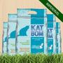 Katbom - 6 Pacotes De 3kg - Frete Grátis P/ São Paulo E Abc