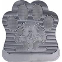 Tapete Para Banheiro De Gato Pet Shop Pegada 32x39cm