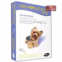 Revolution 12% Antipulgas Cães De 2,5 A 5 Kg - 1 Ampola Tipo