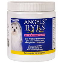 Angels Eyes Natural 240g 120 Flocos Cães Gatos Tira Manchas