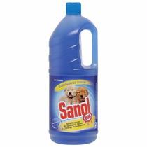 Desinfetante Cachorro Eliminador De Odores Sanol 2l #aqg8
