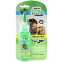 Tropiclean- Cleanteeth Gel 59ml Remoção Tártaro Cães E Gatos