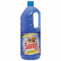 Desinfetante Cachorro Eliminador De Odores Sanol 2l #b7hl
