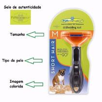 Escova Furminator Para Cães De Porte Médio Com Pelo Curto