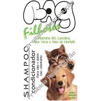 Shampoo Condic Bag Filhotes Cães+gatos 1litro Pele Sensível