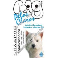 Shampoo Condic Bag Pêlos Claros Cães+gatos 1litro Clareador