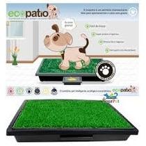 Ecopatio Sanitário Inteligente Para Cães E Gatos Higiênico