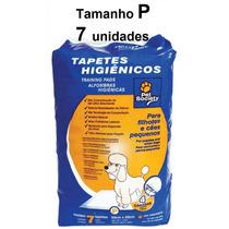 Tapete Higiênico P 7 Unidades Pet Society Sanitario Canino