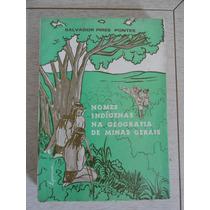 Nomes Indígenas Na Geografia De Minas Gerais