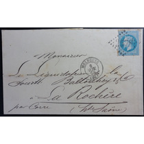 França 1 8 7 0 Carta Circulada De Mulhouse Para La Rochere