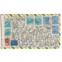 Carta Salvador-ba P/ Werttemberg - 1942 - Env078
