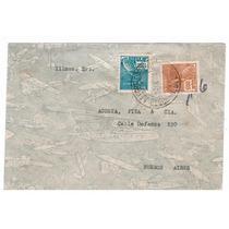 Carta Porto Alegre-rs P/ Buenos Aires-ar 1938 -env070