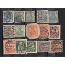Alemanha - Selos Impresso De Inteiro Postal Carimbados!!!