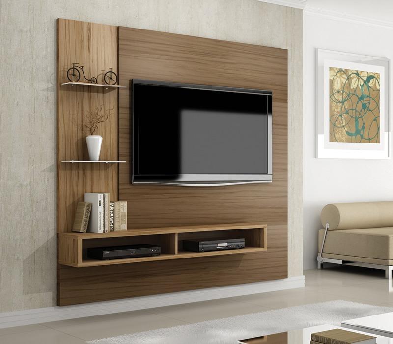Home Painel P Tv Van Gogh Com Suporte Sala De Estar Benetil  R$ 519
