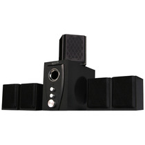 Home Theater Newlink - 5.1 / 40w / Bivolt / Dvd / Pc / Tv